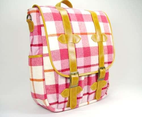 Tartan Messenger Bags