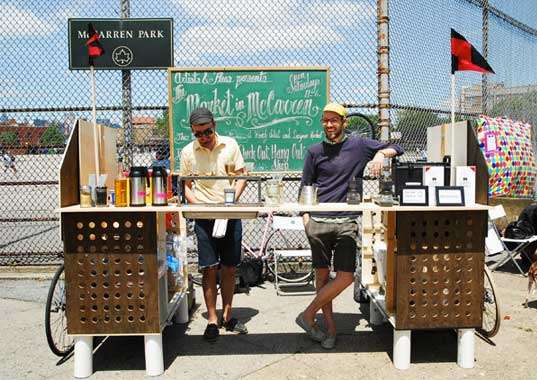 Bike-Powered Java Shops
