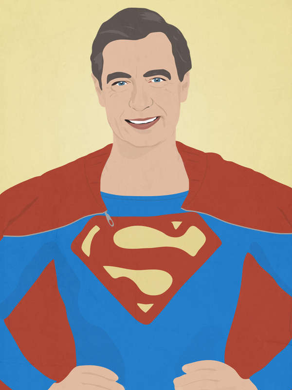 TV Icon Superhero Mashups
