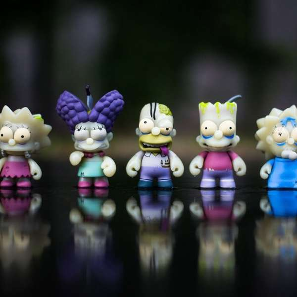 Zombified Iconic Cartoon Toys