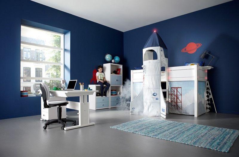 Rocket Launch Bedroom Furniture Kids Bed