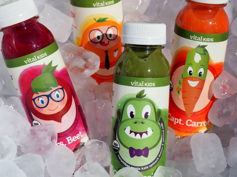 Kids Cold-Pressed Juices