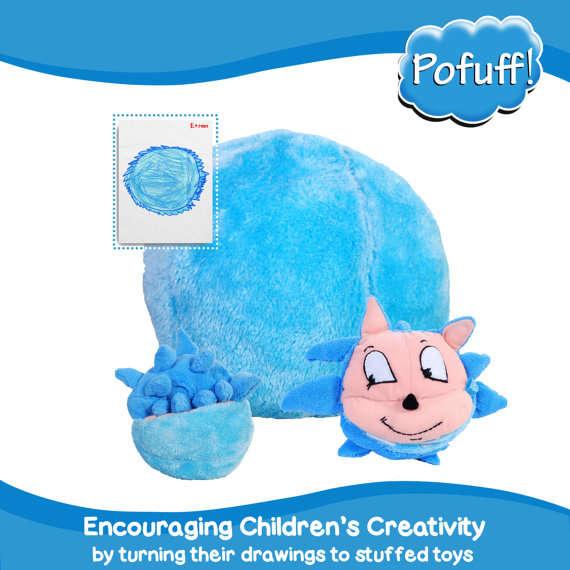 Child-Designed Stuffed Toys