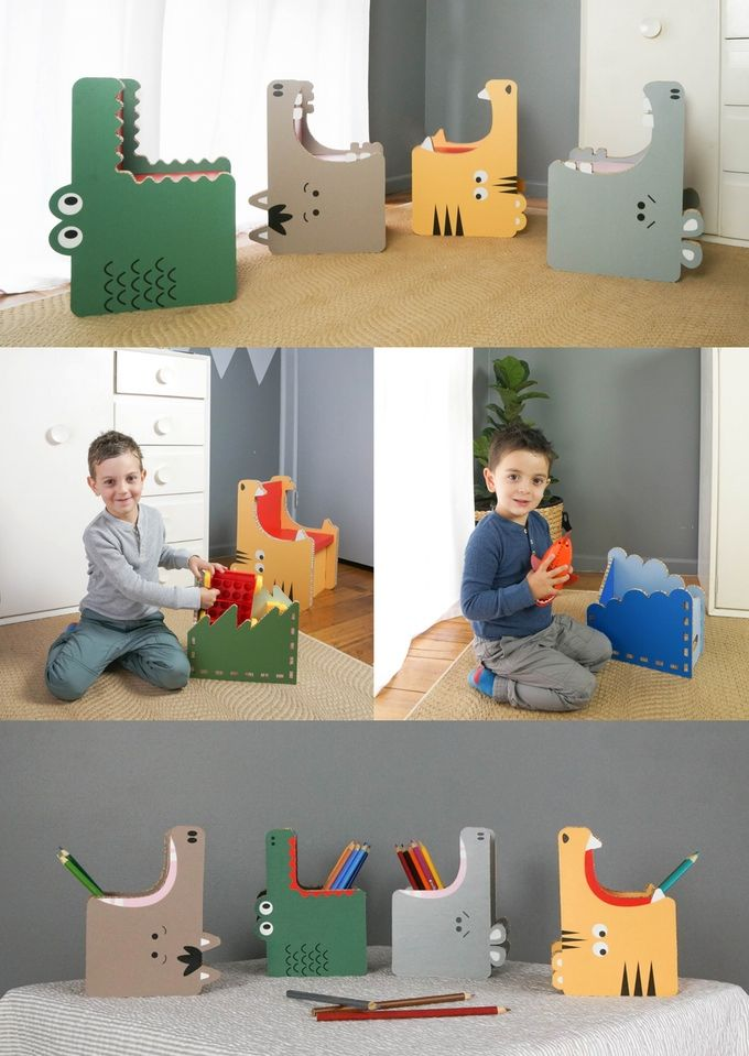 Paper-Made Kid's Furniture