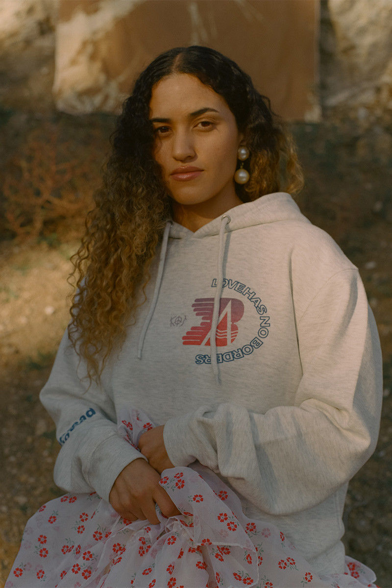 Migrant-Catered Love Centric Hoodies