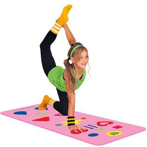 Gamified Yoga Mats : Kids Yoga Mat