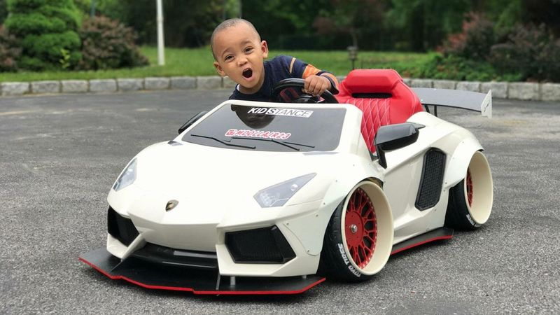 Extremely Customized Kids Cars