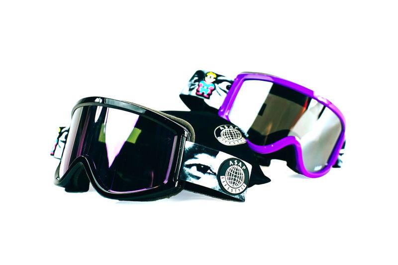 Rap Group Ski Goggles