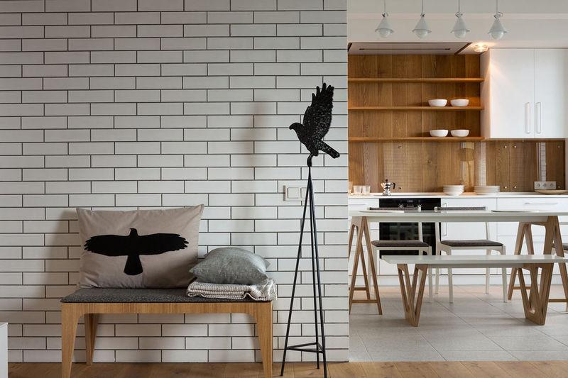 White Scandinavian Apartments
