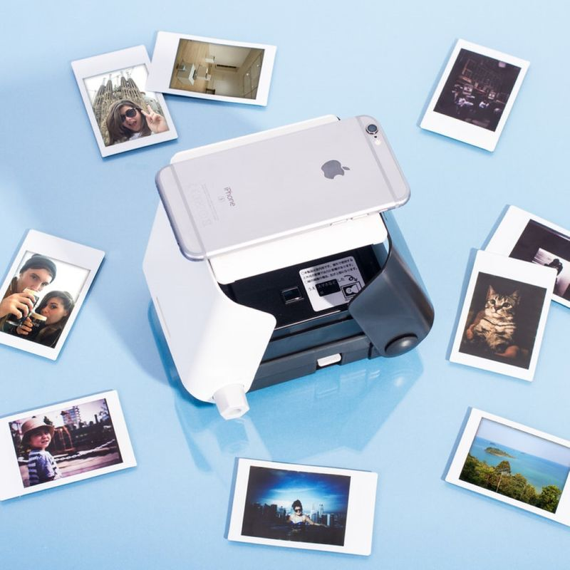 Low-Tech Smartphone Printers