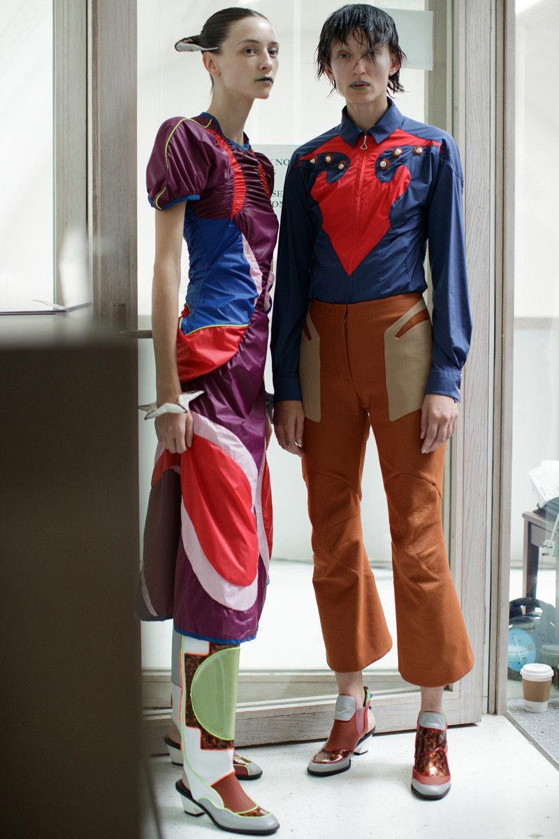 Futuristic Dystopic Womenswear