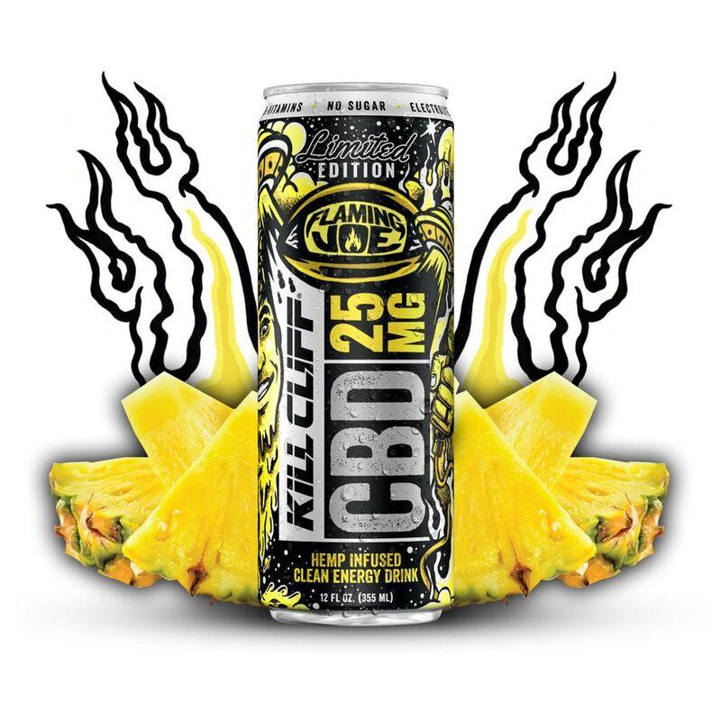Spicy Pineapple CBD Drinks