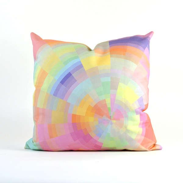 Color Pixelation Cushions