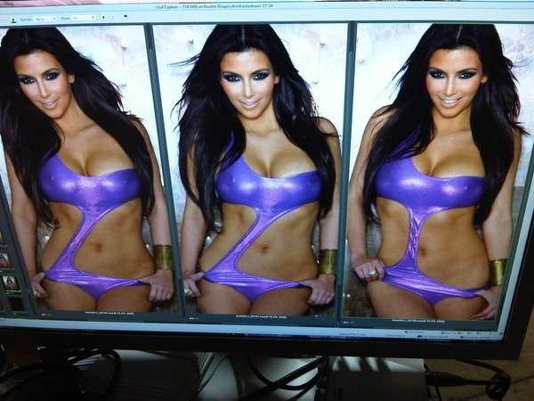 kardashian twitter Kim bikini