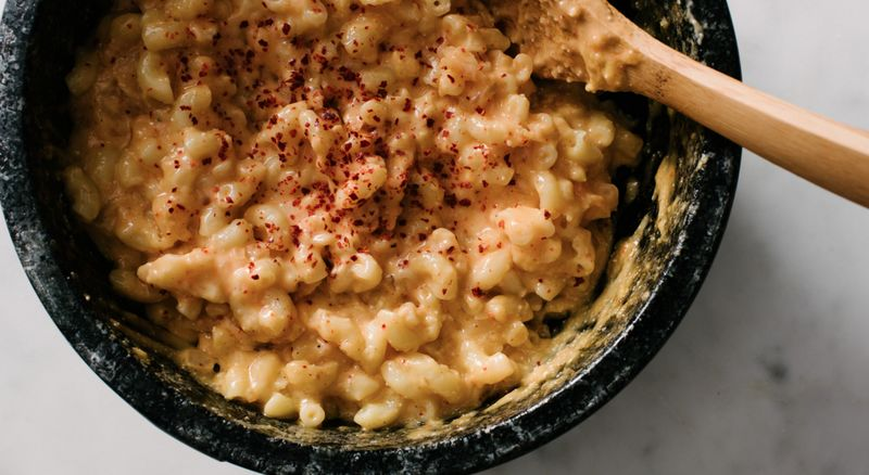 Asian Cheesy Macaroni