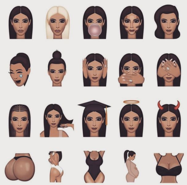 Reality Star Emojis