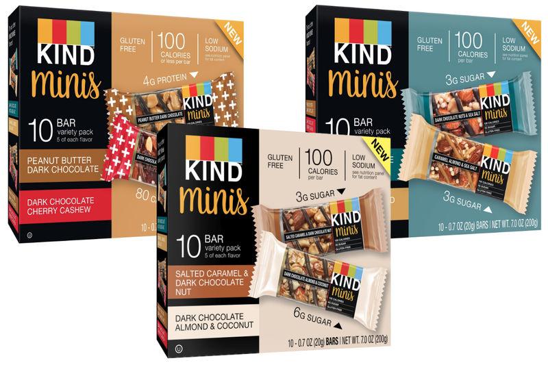Mini-Size Snack Bars