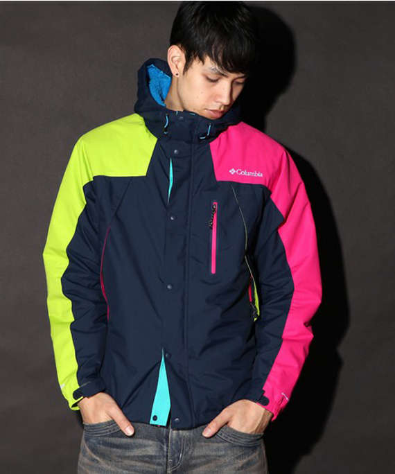 Cozy Color-Blocked Coats