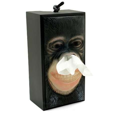 Whimsical Ape Kleenex Boxes