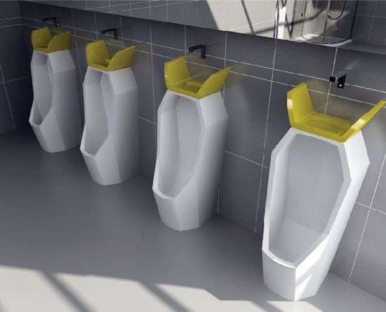 Sustainable Crowned Urinals