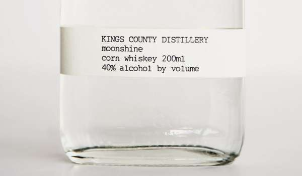 Ultra Minimal Booze Branding