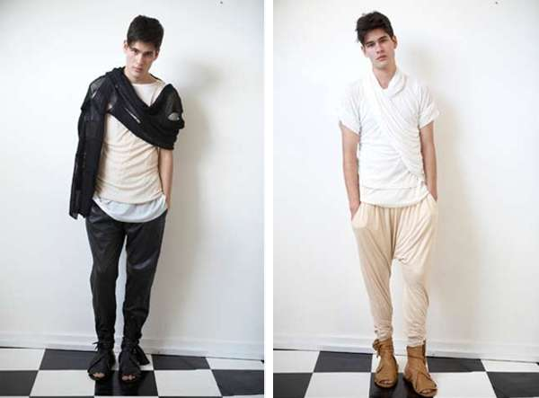 Draped Menswear
