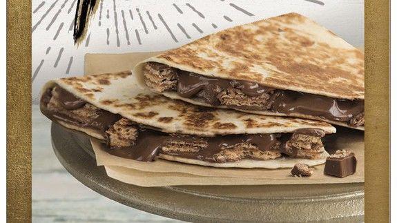 Chocolate Bar Quesadillas