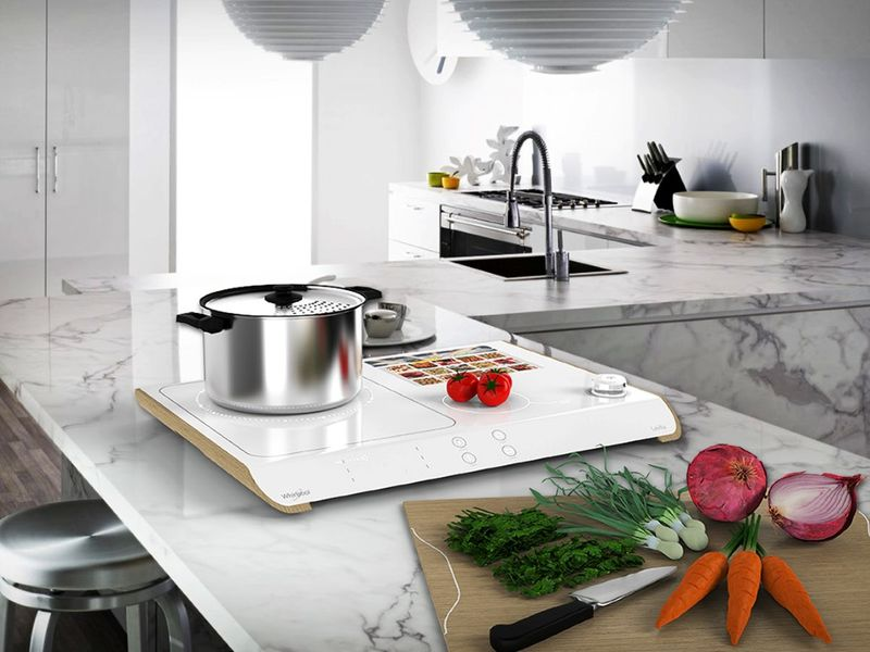 Futuristic Kitchen - Kitchen appliances adopt abstract form and ...