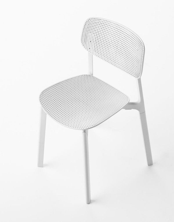 Perforated Kitchen Chairs