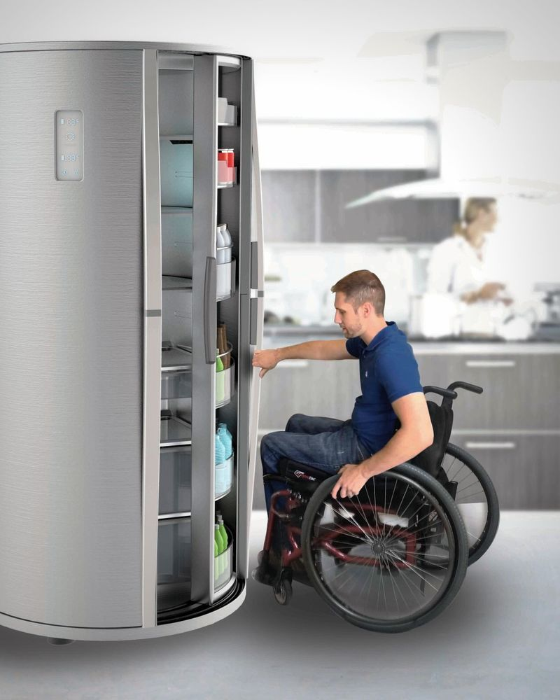 Accessible Kitchen Fridges