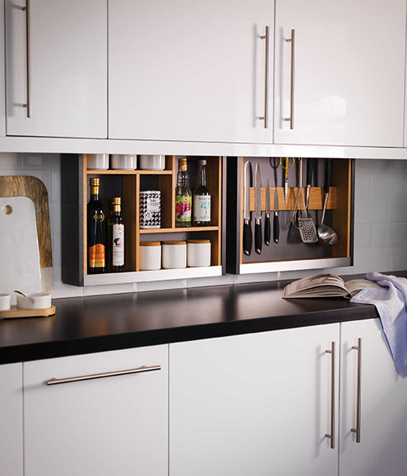 Hidden Kitchen Storage Solutions : kitchen storage solution