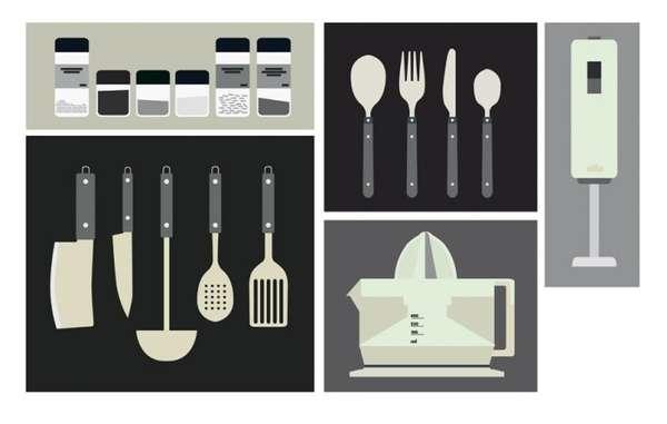 Artistic Appliance Illustrations