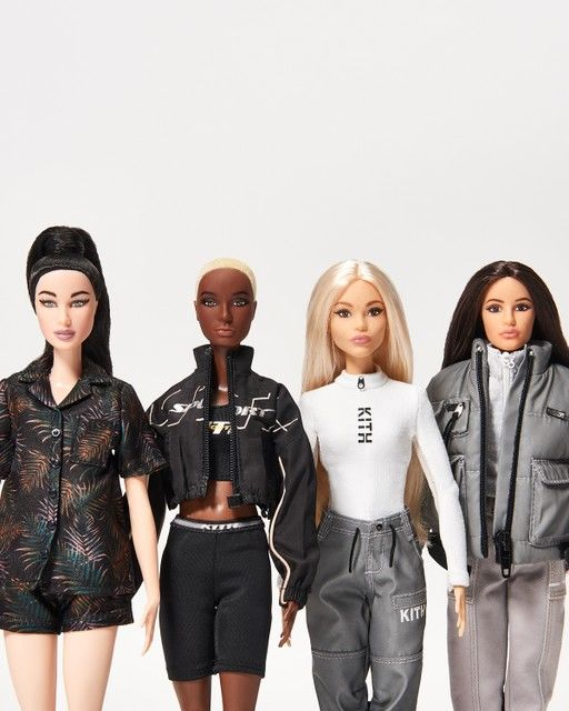 Collaborative Fashion Dolls