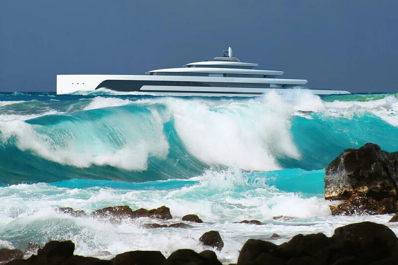 Chic Solar-Powered Superyachts