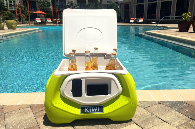 Easily-to-Carry Beach Coolers