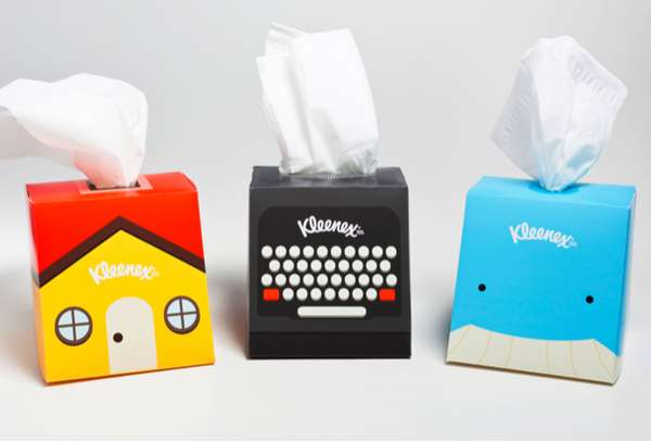 Clever Tissue Cartons