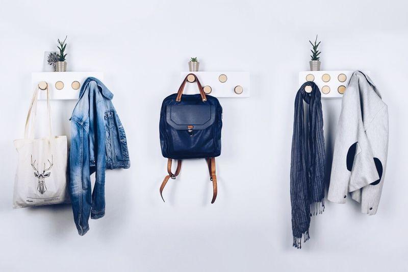 Pop-Out Wardrobe Hangers
