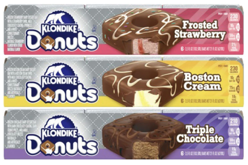 Donut-Inspired Frozen Bars