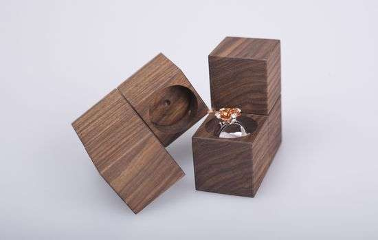 Tetris Ring Boxes klotz jewelry packaging