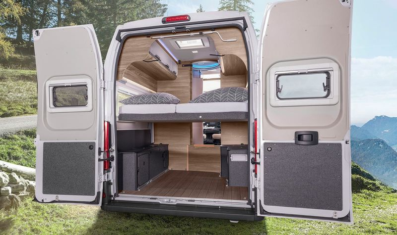 Spacious Accommodation Camper Vans