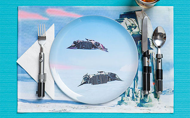Cinematic Sci-Fi Cutlery
