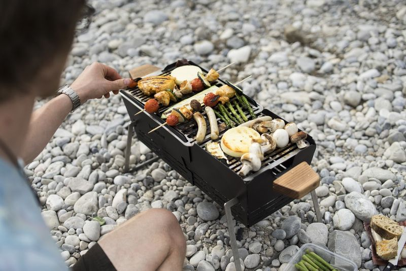 Bicycle-Mounted Barbecues