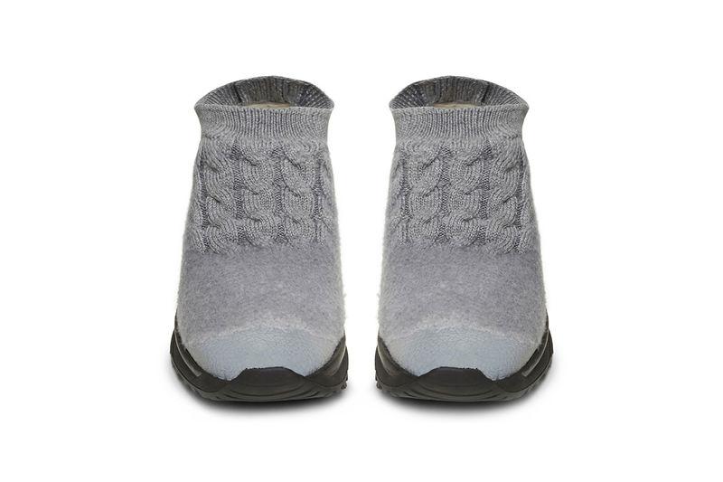 Felt Knit Running Shoes