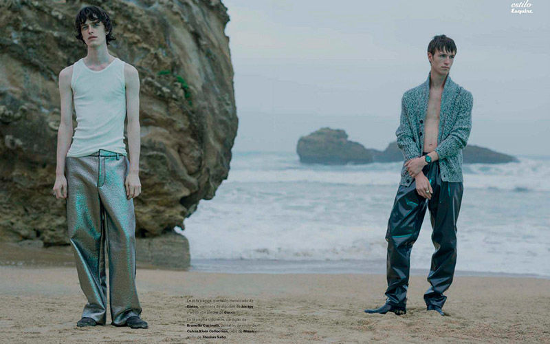 Desolate Seaside Editorials