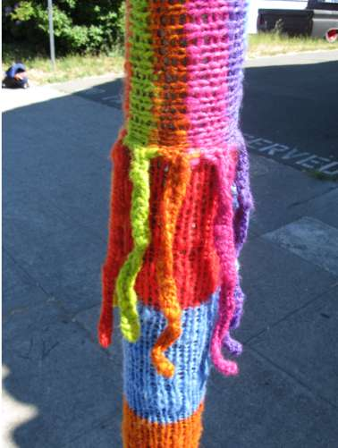 Yarn-Bombed Boulevards