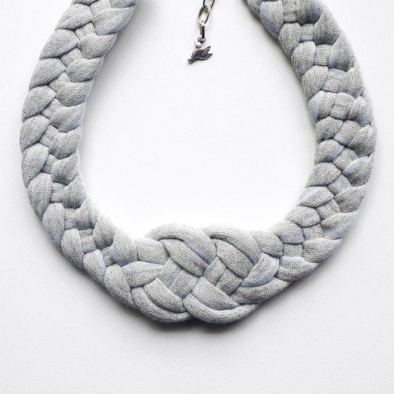 Handwoven Knot Necklaces