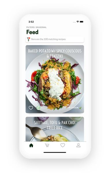 Sustainable Personalized Cooking Apps