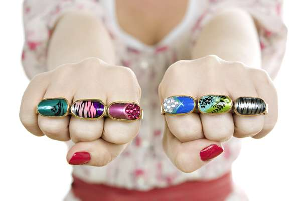 Nail Brass Knuckles
