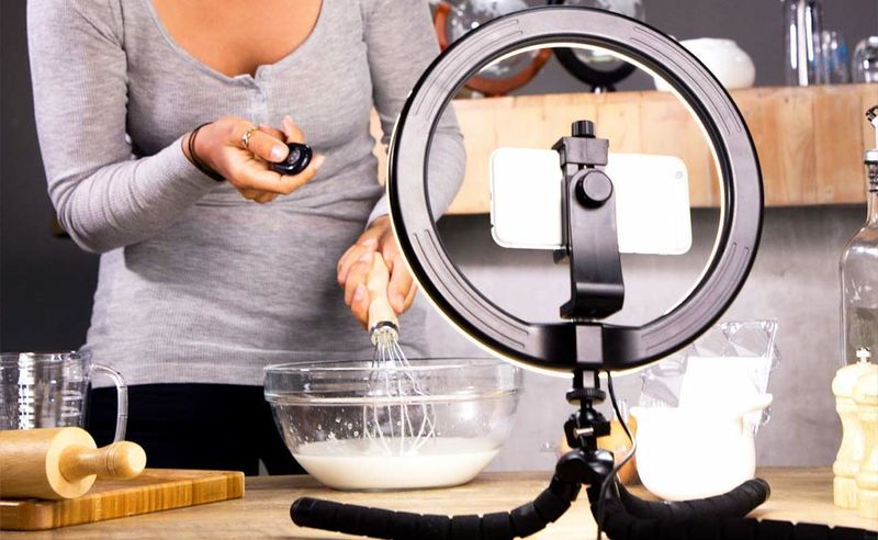 Vlogger Illumination Light Stands