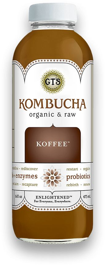 Coffee-Flavored Kombuchas